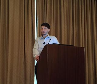 Daniel Walnycky presents his research at DFRWS 2015