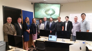 State Reps visit UNHcFREG to discuss cybersecurity bill