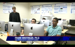 Our very own's Dr. Frank Breitinger's ethical hacking course featured on FoxCT