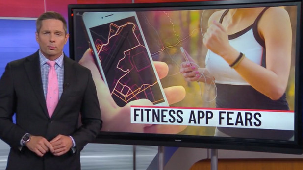Fitness Apps Fears! Our research featured in the news.