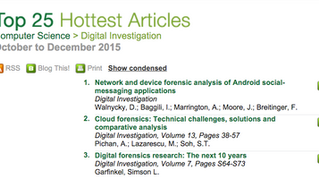 UNHcFREG student lead article ranked #1 in ScienceDirect's 25 article
