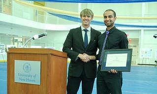 Vikram S. Harichandran wins outstanding student award
