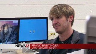 Dr. Frank Breitinger on ISIS and online communications