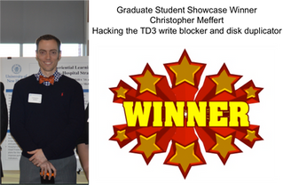 Chris Meffert wins UNH Graduate Student Showcase!