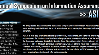 Paper Accepted at the 9th Annual Symposium on Information Assurance - Albany NY