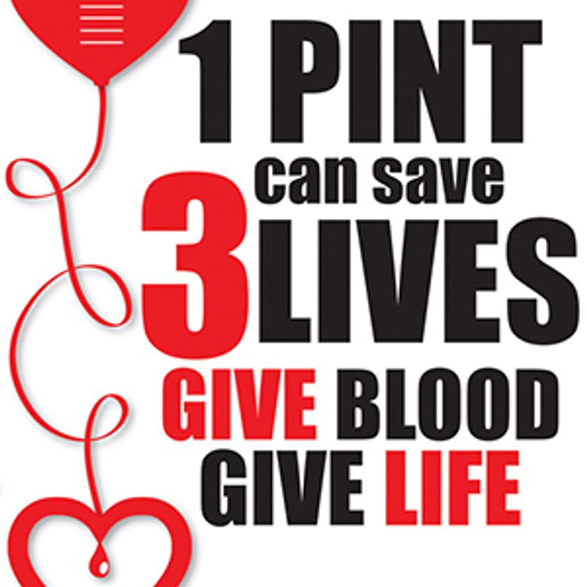 Blood Drive Shift #1