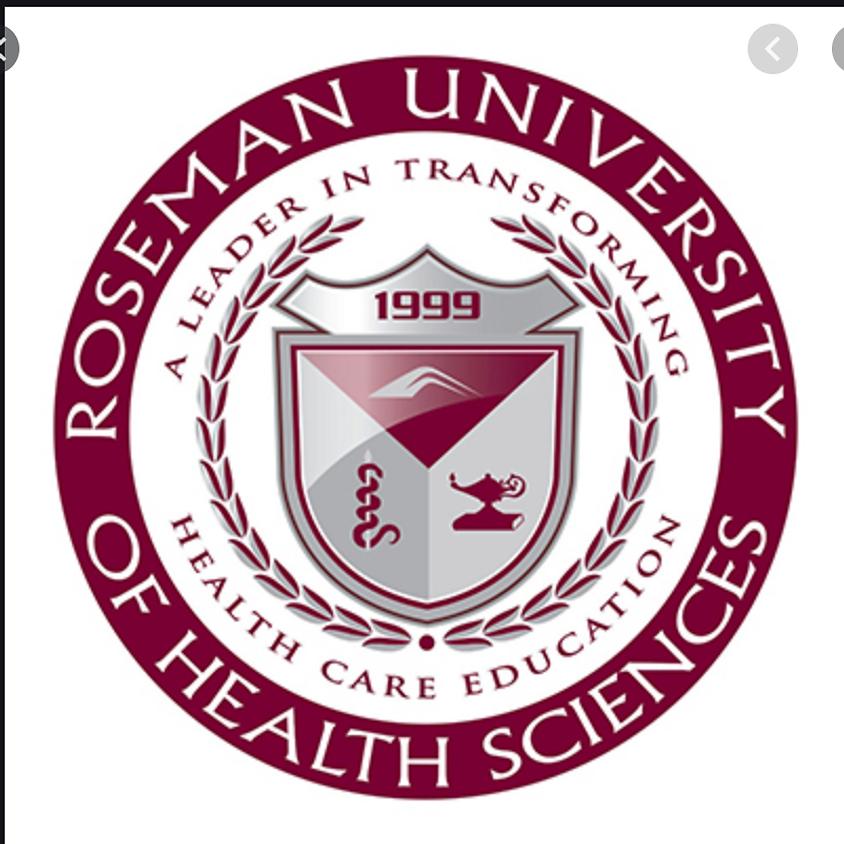 Roseman University Virtual Webinar