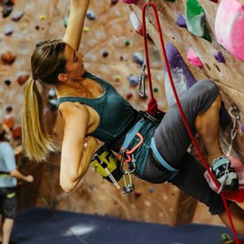 Indoor Rock-Climbing