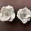 Thumbnail: Single Rose porcelain candle holder