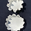 Thumbnail: Clouds set of  2 plates different sizes