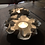 Thumbnail: Porcelain water lily candle holder