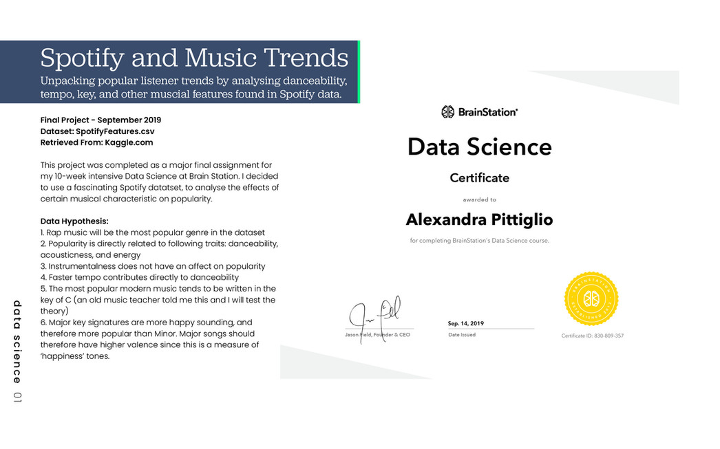 Check out my final project for the Brain Station Data Science course below.
