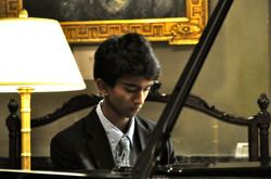 Ami playing the Moonlight Sonata