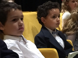 Young audience waiting their turn