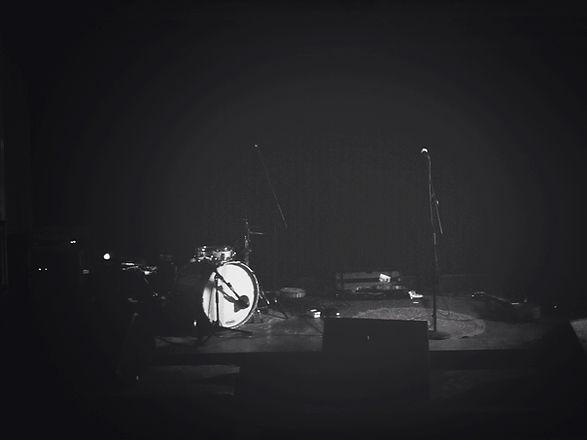 leere Bühne