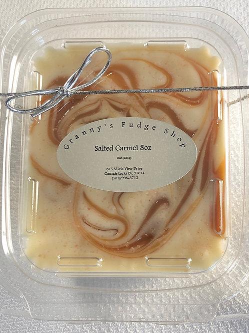 Salted Caramel Fudge -Half Pound