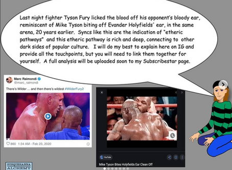 Etheric Pathways:  Tyson Fury, Mike Tyson and The Day the Music Died