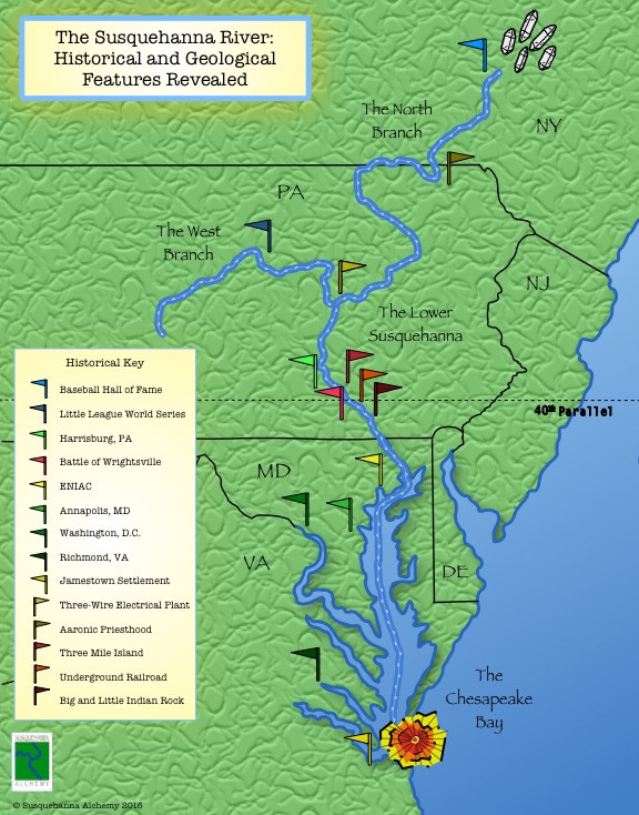 The Susquehanna River Map with Historical Markers on shenandoah river map, chesapeake bay, sacramento river map, lake erie, pee dee river map, hudson river, ohio river, pawcatuck river map, missouri river, red river, allegheny river map, scioto river map, colorado river, mississippi river, monongahela river, james river, allegheny river, potomac river, columbia river map, snake river, city island, columbia river, connecticut river map, adirondack mountains, san joaquin river map, delaware water gap, roanoke river map, seneca river map, hudson river map, tombigbee river map, delaware river, saskatchewan river map, juniata river map, connecticut river, potomac river map, delaware river map, james river map, mohawk river map, tennessee river map,