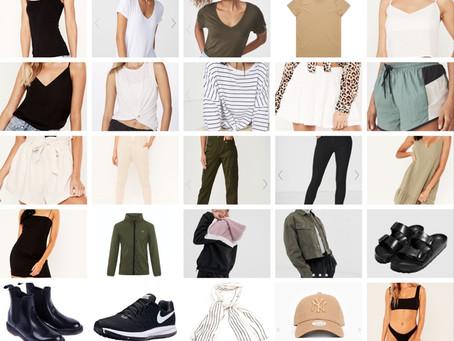 25 item RTW Capsule Wardrobe [Packing List]
