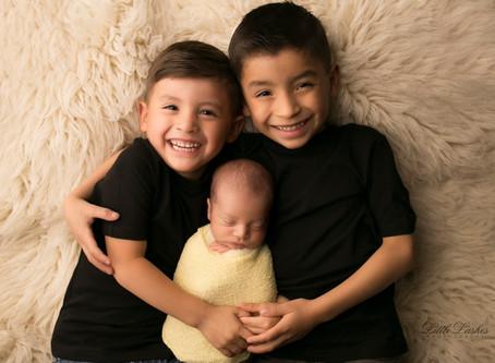 Party of 5 | Newborn Photographer in Yorba Linda, CA