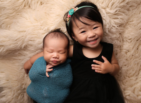 Siblings | Costa Mesa Newborn Photographer