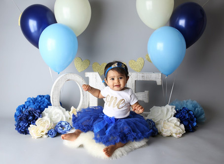 Smash Cake Session | Newport Beach Baby Photographer