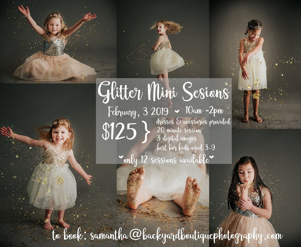 Glitter Mini Photo Sessions - Lansdale PA Photographer