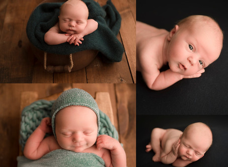 Welsey | Newborn Portrait Session Bucks County PA