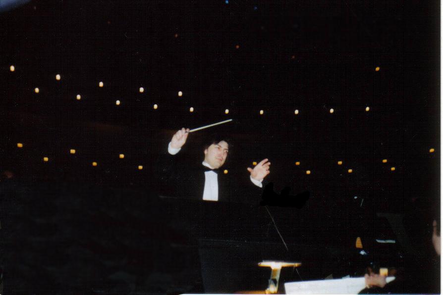 conducting at PDA no white A