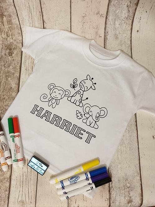 Colour Your Own T-shirt