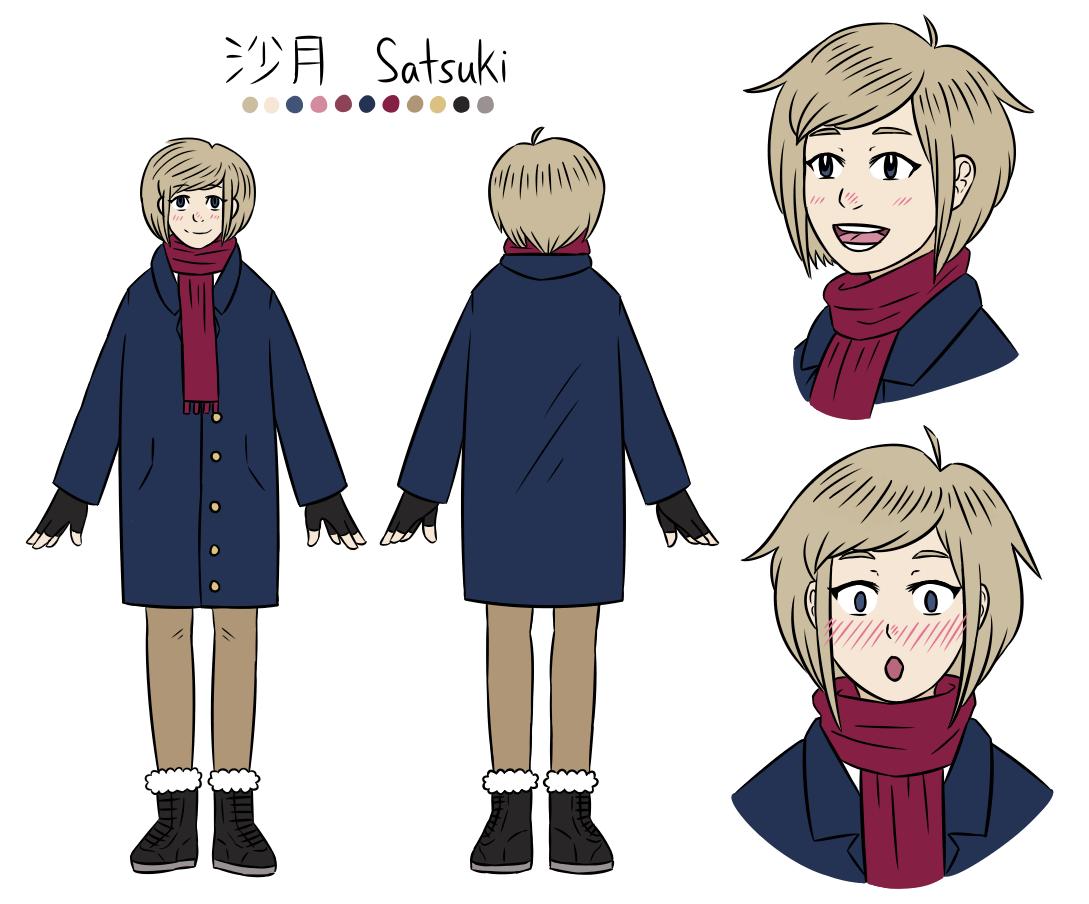 """2017 - """"Satsuki"""" Character Design"""