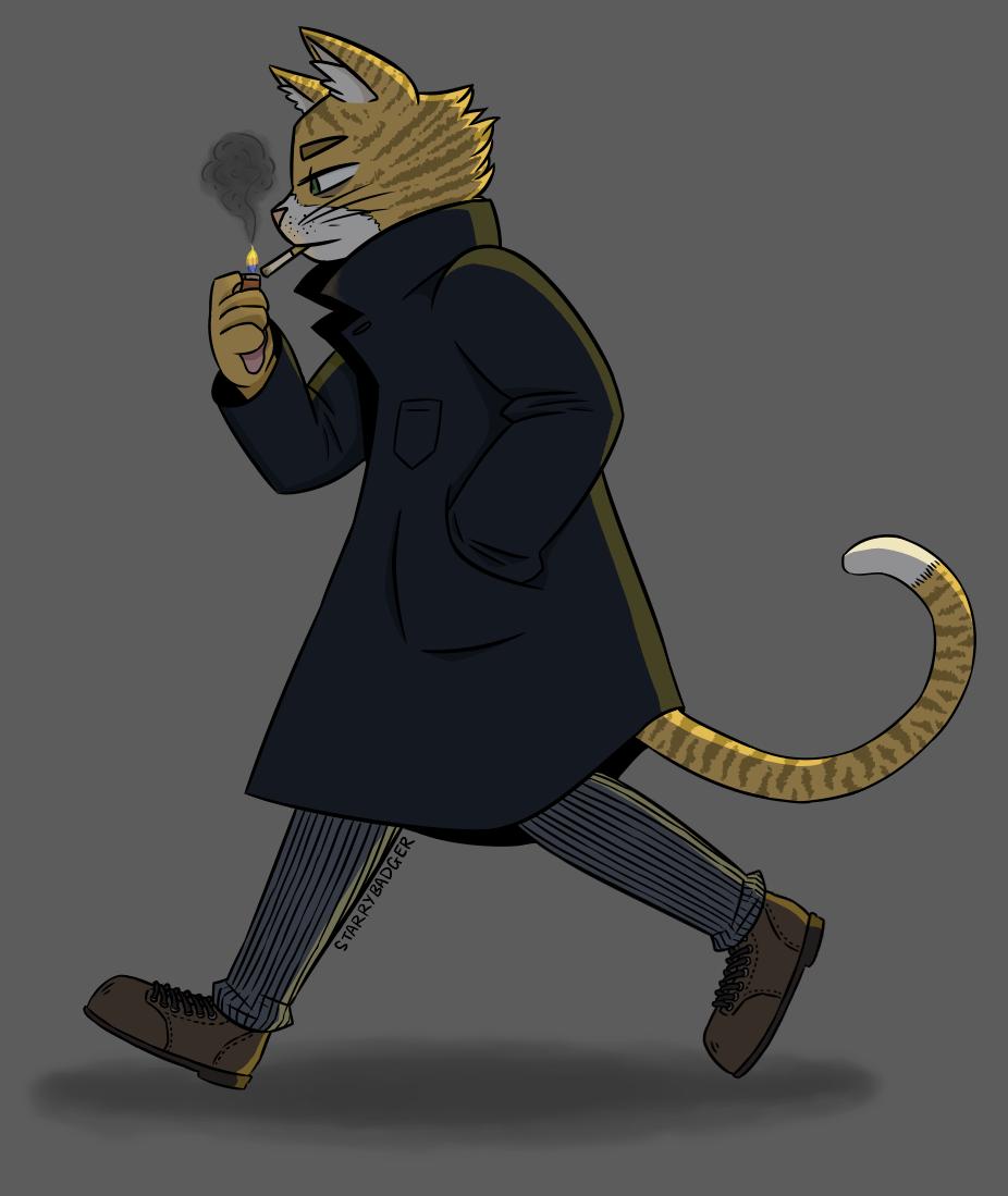 "2018 - ""Cat Detective"""