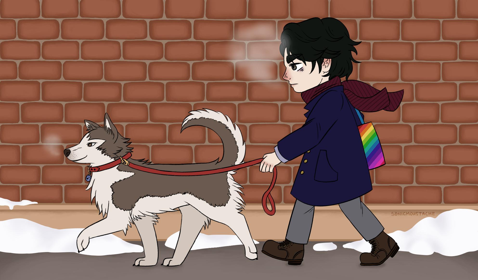 """2016 - """"Dog Walk"""""""