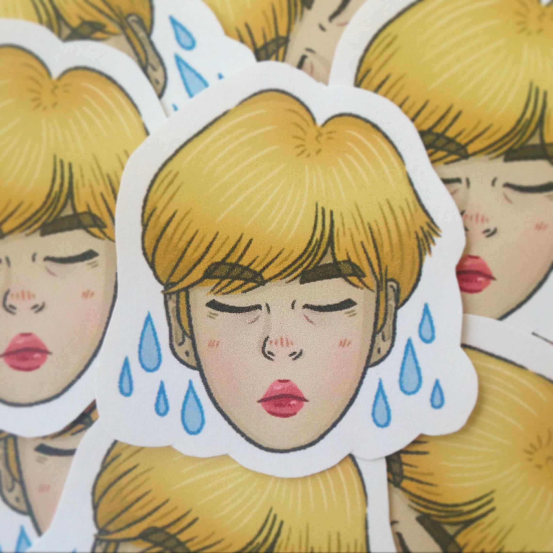 2018 - Printed Sticker