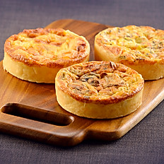 ASSORTED QUICHES