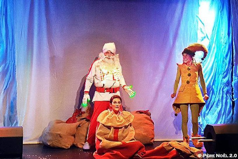 Père Noël 2.0, Spectacle de Noël, enfants, théâtre