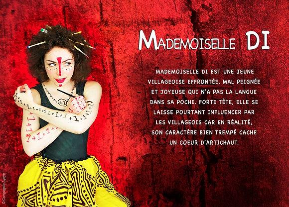CARTE POSTALE DE MADEMOISELLE DI