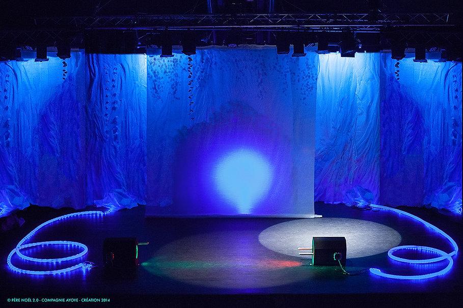 Père Noël 2.0, Spectacle de Noël, enfants, théâtre,Compagne Ayoye