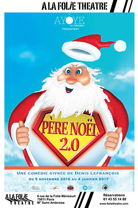 """Affiche """"Père Noël 2.0"""""""