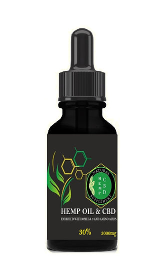 CBD OIL ESPECTRO COMPLETO 3000mg 30ml
