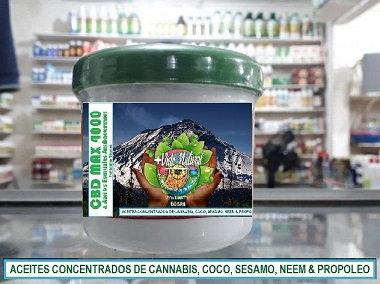 Bálsamo de Cannabis Alta Concentración