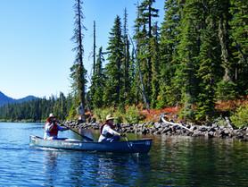 Waldo Lake Paddle Trip - Day 2