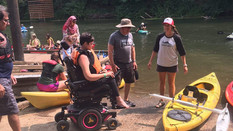 Adaptive Paddle Clinic and BBQ Has Biggest Turnout to Date