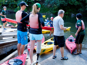 The Joy of Helping the Disabled Paddle