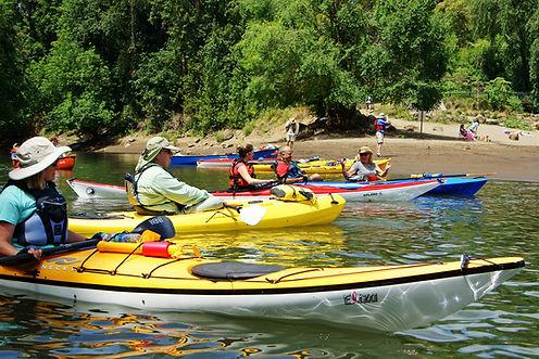 Kayakers at George Rogers Park