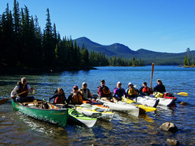 Waldo Lake Paddle Trip - Day 3