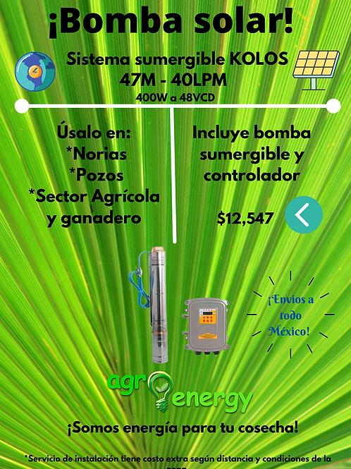 Sistema sumergible KOLOS 47M - 40LPM