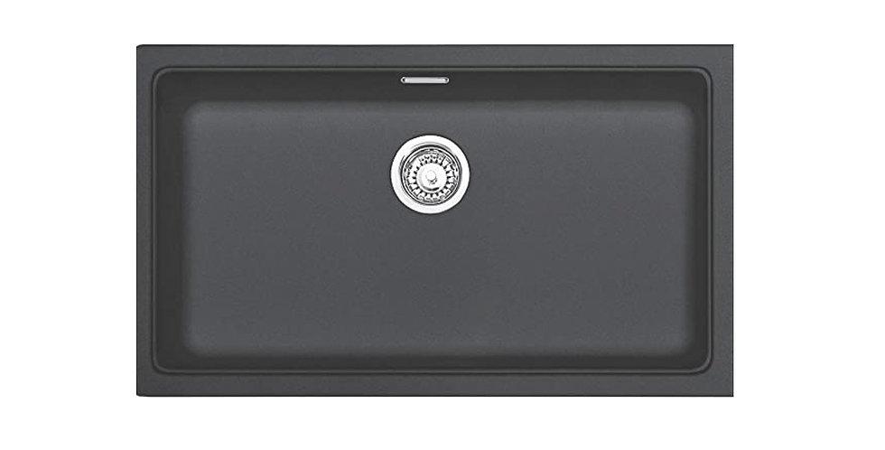Poceta Sintetica Fragranite Grafito de 74cm; KBG 110-70 Graphite FRANKE