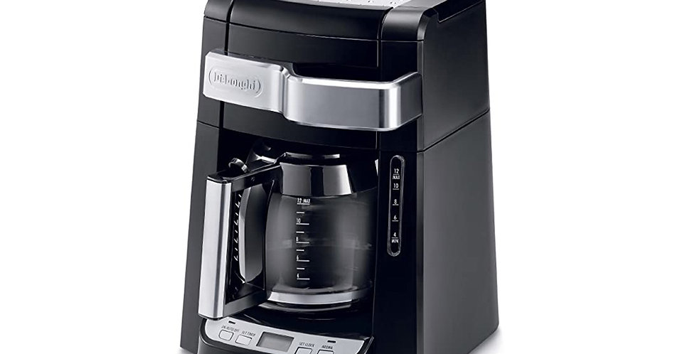 Cafetera Programable 12 Tazas Negro