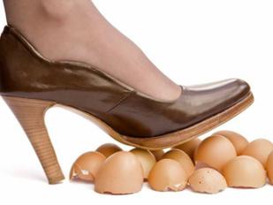 ללכת על ביצים
